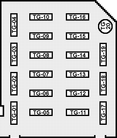 Tabletop Gaming Room Layout Map